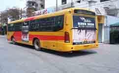 牡丹江微循环公交1号线公交车路线