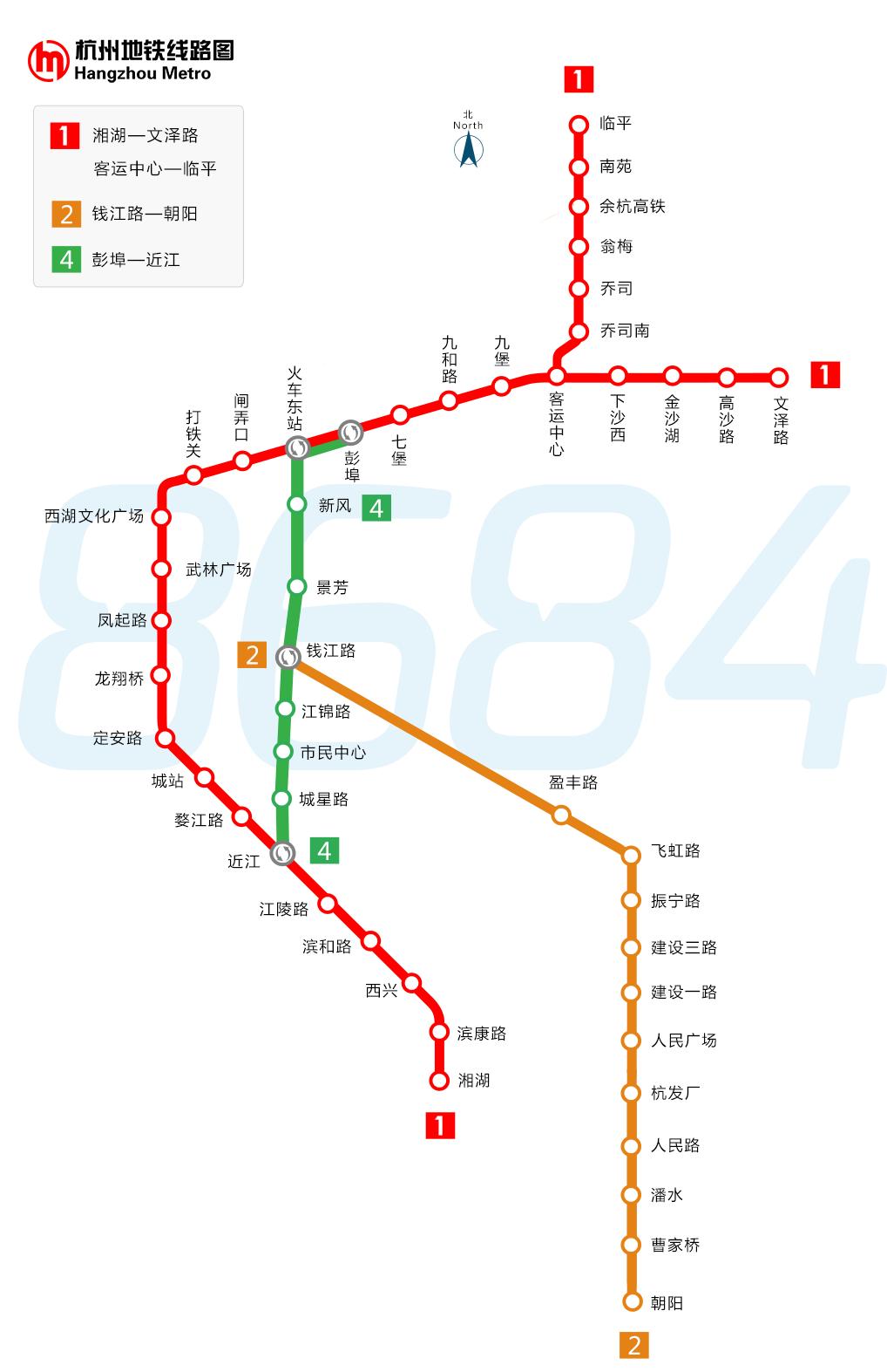 杭州地铁_杭州地铁线路图_杭州地铁路线_杭州地铁线路