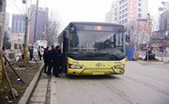 姜庄西公交站